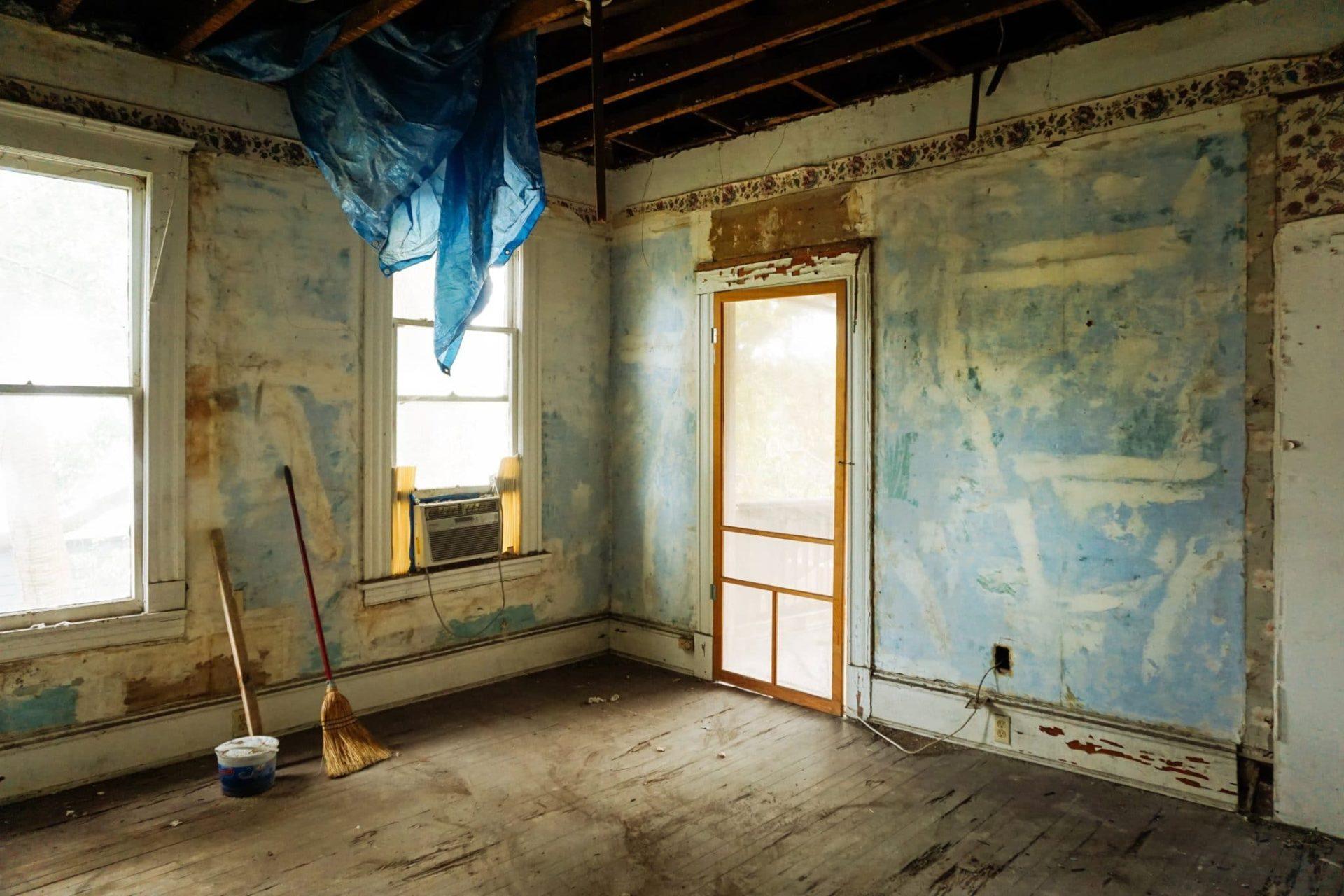 начать ремонт дома после покупки